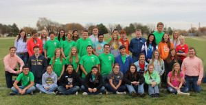 "Serving as hosts for the eighth year, the  ""Leaders in the Southwest"" conference allows the Hugoton FFA Chapter to experience organizational skills at a high level and has helped develop pride within their organization."