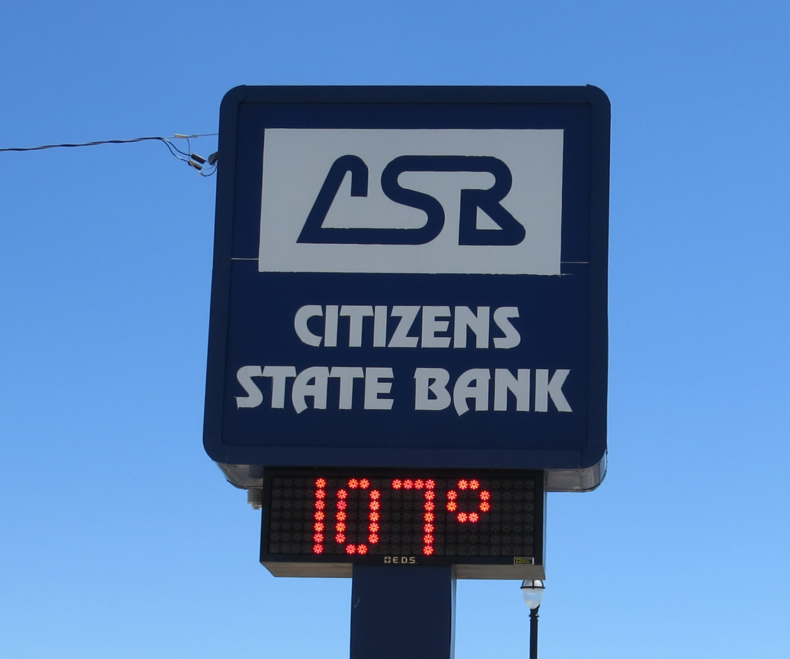 Hugoton's hot temperature Monday is 107 the hottest so far this year.