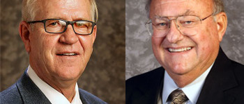 Senator John Doll, at left, and Representative Stephen Alford at left, will be at the Legislative Update Monday, April 10 at the Stevens County Library. The Update will begin at 6:30 p.m.